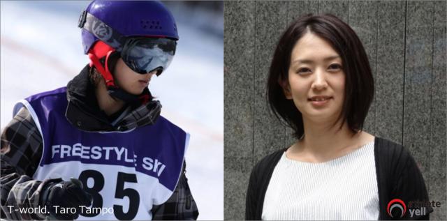 スキーモーグル・新谷奈津美