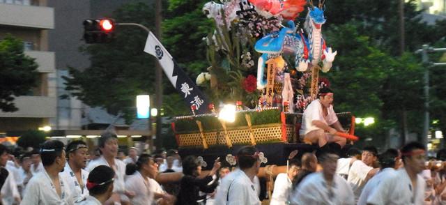 博多祇園山笠 東流