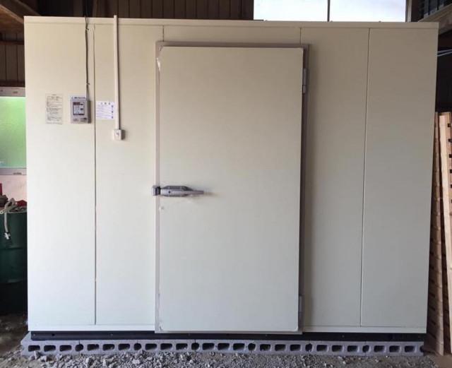 2坪サイズ プレハブ型玄米保冷庫